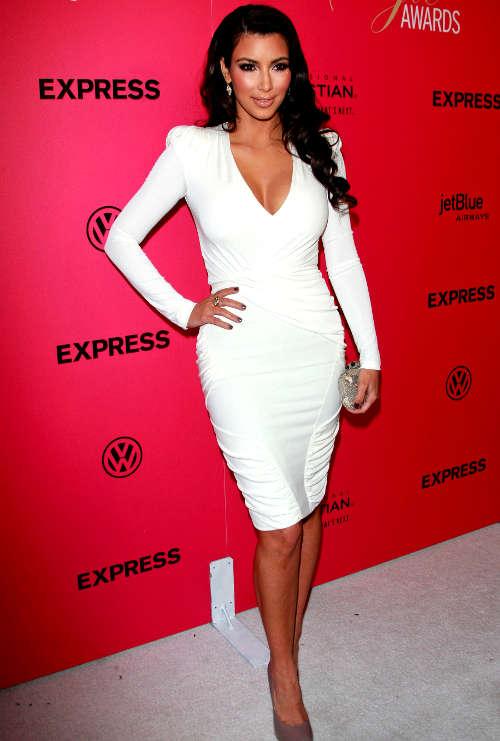 Kim Kardashian White Dress Style - Fashion Show ON