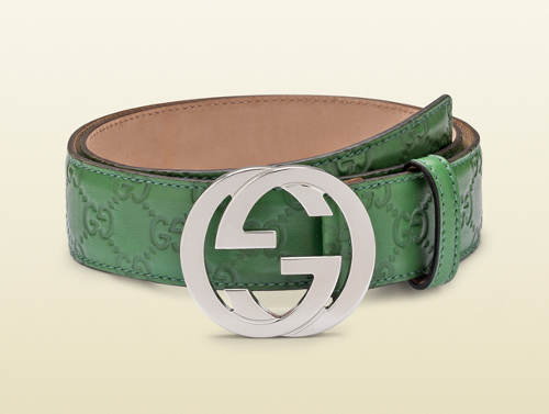8574cf55e3b Mens Gucci Belt Green - Fashion Show ON