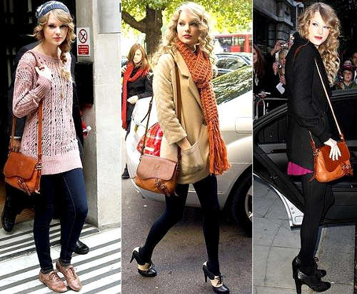 Taylor Swift Retro Style Fashion Show On